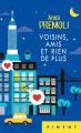 Couverture Voisins, amis et rien de plus Editions France Loisirs (Piment) 2020