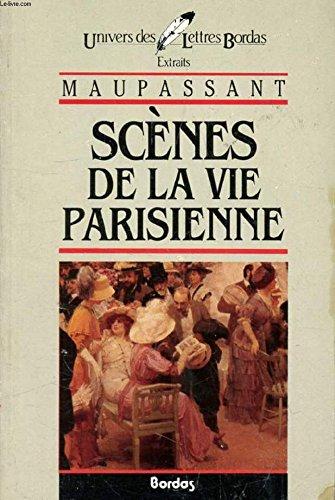 Couverture Scènes de la vie parisienne