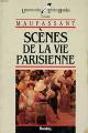 Couverture Scènes de la vie parisienne  Editions Bordas (Univers des lettres) 1985