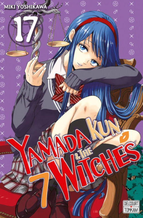 Couverture Yamada kun & the 7 witches, tome 17