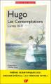 Couverture Les Contemplations / Livres IV - V Editions Flamant noir 2020