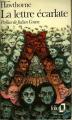 Couverture La lettre écarlate Editions Folio  1977