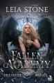 Couverture Fallen Academy, tome 1 : Première année Editions MxM Bookmark (Teen Spirit) 2020