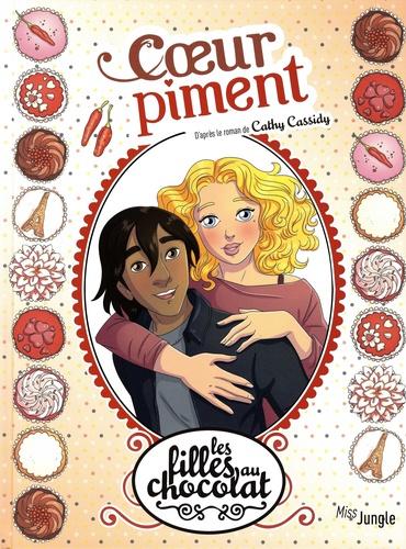 Couverture Les filles au chocolat (BD), tome 10 : Cœur Piment