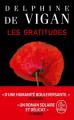 Couverture Les gratitudes Editions Le Livre de Poche 2020