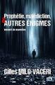 Couverture Prophétie, malédiction, et autres énigmes: recueil de nouvelles Editions du 38 2020
