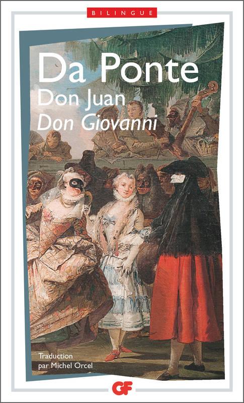 Couverture Don Giovanni Don Juan