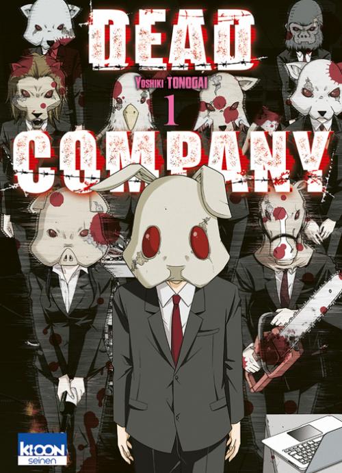 Couverture Dead Company, tome 1