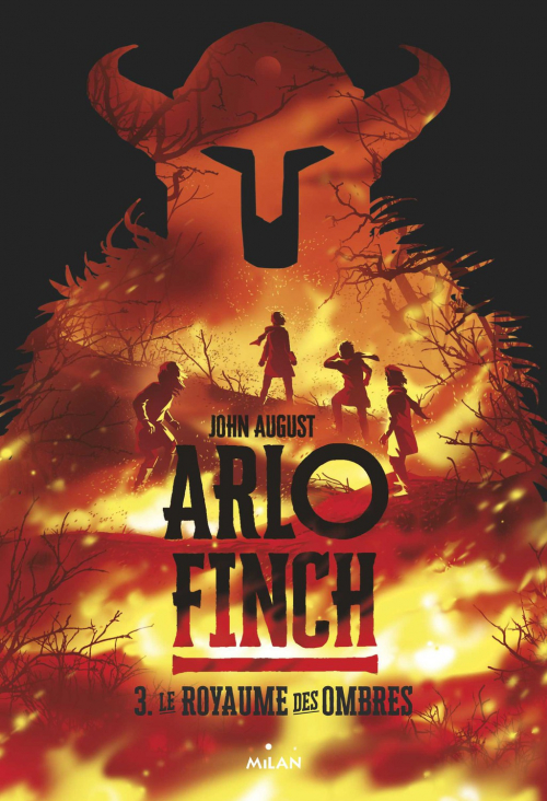 Couverture  Arlo Finch, tome 3 : Le royaume des ombres