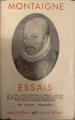 Couverture Les essais / Essais Editions Gallimard  (Bibliothèque de la pléiade) 1950