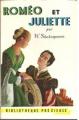 Couverture Roméo et Juliette Editions Gründ (La bibliothèque précieuse) 1954