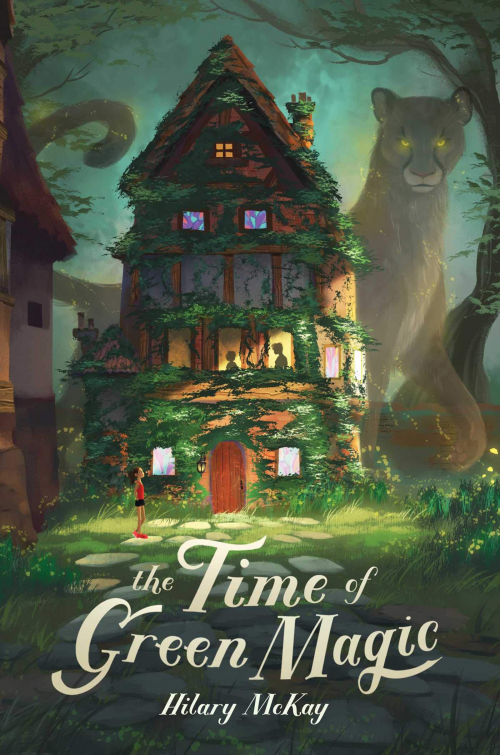 Couverture The Time of green magic