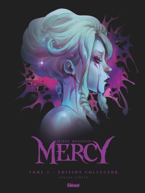 Couverture Mercy (BD), tome 1 : La dame, le gel et le diable