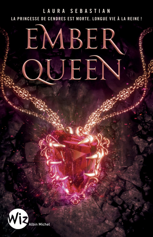 Couverture Ash Princess, tome 3 : Ember Queen