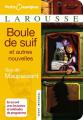 Couverture Boule de suif Editions Larousse 2007
