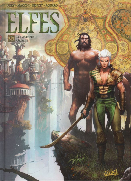 Couverture Elfes, tome 27 : Les Maîtres Ogham