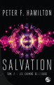 Couverture Salvation, tome 2 : Les Chemins de l'exode Editions Bragelonne (Science-fiction) 2020