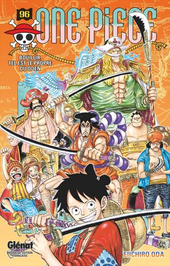 Couverture One Piece, tome 096 : Bouillir, tel est le propre du Oden