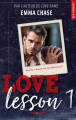 Couverture Love lesson, tome 1 Editions Hugo & cie (New romance) 2020