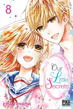 Couverture Our Little Secrets, tome 8