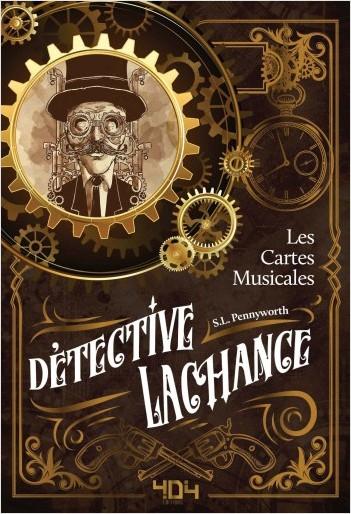 Couverture Détective LaChance, tome 1 : Les cartes musicales