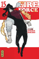 Couverture Fire Force, tome 15 Editions Kana (Shônen) 2020