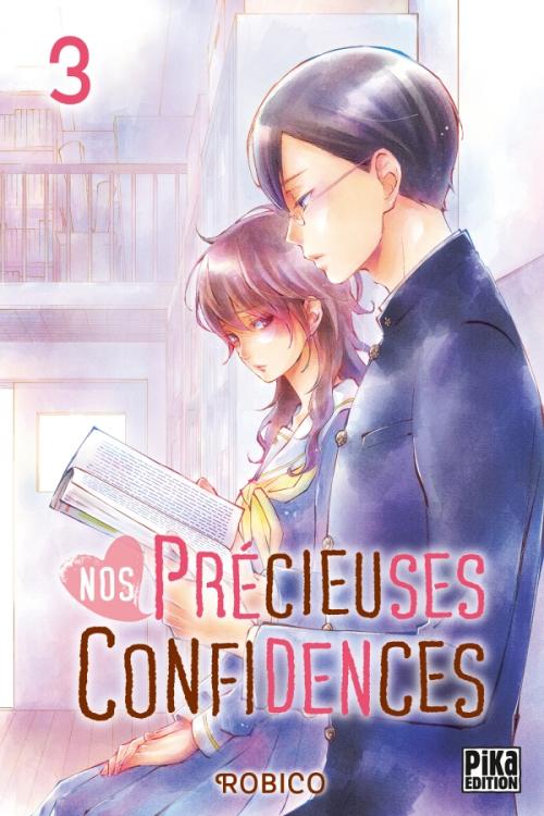 Couverture Nos précieuses confidences, tome 3