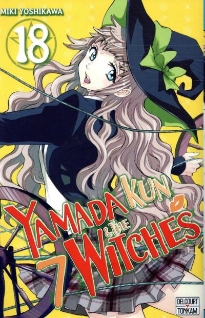 Couverture Yamada kun & the 7 witches, tome 18 (Yamada-kun to 7-nin no majyo, book 18)