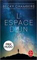Couverture L'espace d'un an Editions Le Livre de Poche 2020