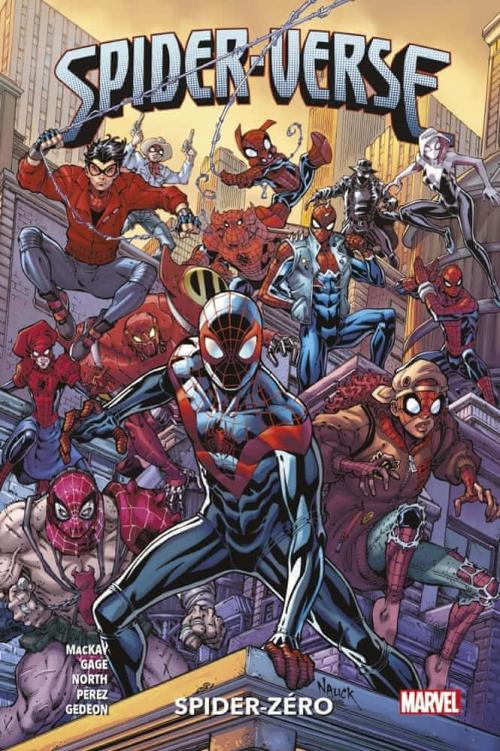 Couverture Spider-Verse : Spider-Zéro
