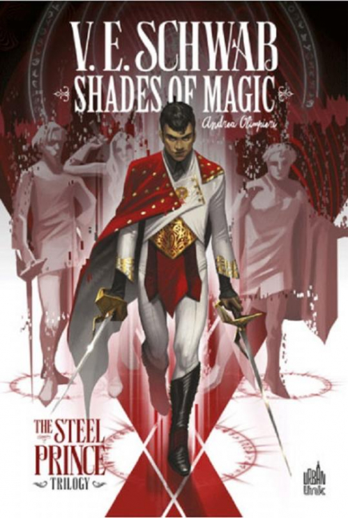 Couverture Shades of Magic : The Steel Prince Trilogy, tome 1