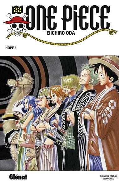 Couverture One Piece, tome 022 : Espoir