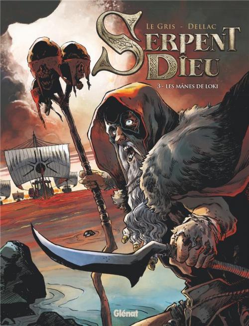 Couverture Serpent Dieu, tome 3 : Les mânes de Loki
