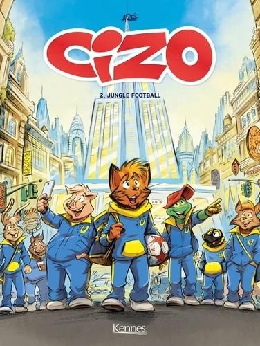 Couverture Cizo, tome 2 : Jungle football