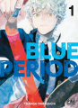 Couverture Blue Period, tome 1 Editions Pika (Seinen) 2021