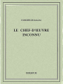 Couverture Le chef-d'oeuvre inconnu Editions Bibebook 2015