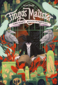 Couverture Fingus Malister, tome 2 : Crâne Bavard, Grimoire et Magie Noire Editions Rageot 2020