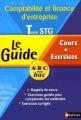 Couverture Le Guide ABC Comptabilité et finance d'entreprise Term STG - Cours + Exercices Editions Nathan 2006