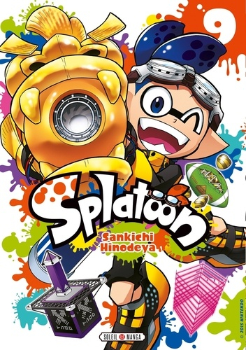 Couverture Splatoon, tome 09