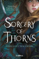 Couverture Sorcery of Thorns Editions Castelmore (Big Bang) 2020