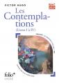 Couverture Les contemplations (livres I à IV) Editions Folio  (Plus) 2020