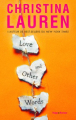 Couverture Love and Other Words Editions Hugo & cie (Poche - New romance) 2020