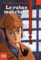 Couverture Le ruban moucheté Editions Folio  (Junior) 1997