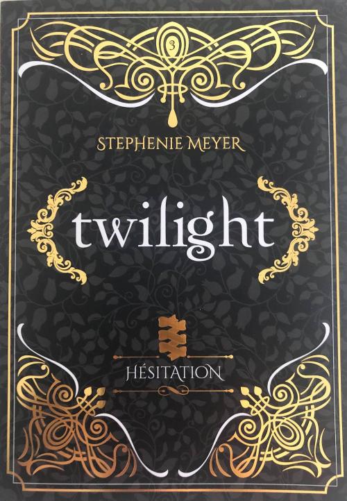 Couverture Twilight, tome 3 : Hésitation