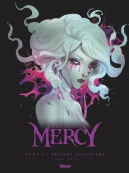 Couverture Mercy (BD), tome 2 : Des chasseurs, des fleurs et du sang