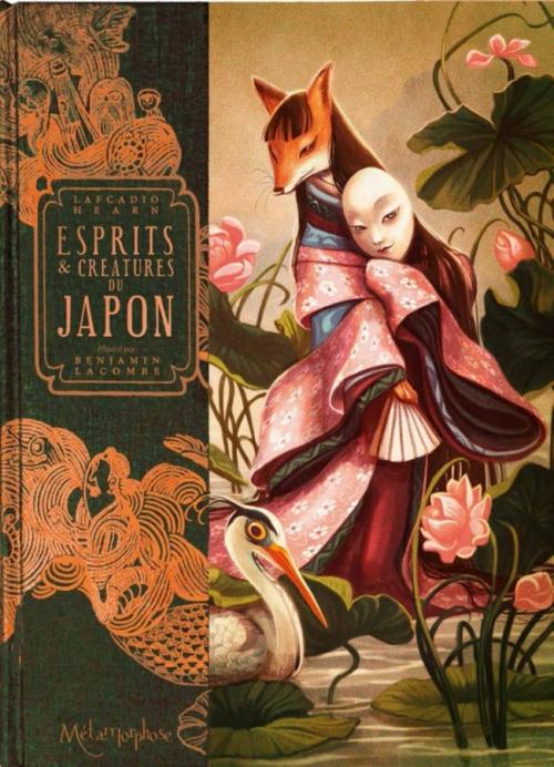 Couverture Esprits et créatures du Japon