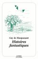 Couverture Histoires fantastiques Editions L'École des loisirs (Classiques) 2019