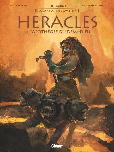 Couverture Héraclès, tome 3 : L'apothéose du Demi-Dieu