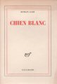 Couverture Chien blanc Editions Gallimard  1970