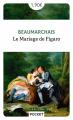 Couverture Le Mariage de Figaro Editions Pocket (Classiques) 2018